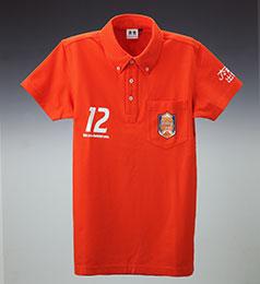ポロシャツ (オレンジ)