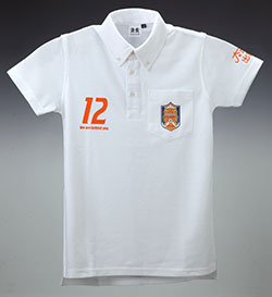 ポロシャツ (ホワイト)