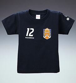 キッズTシャツ (ネイビー)