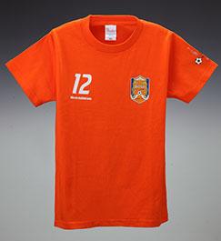 キッズTシャツ (オレンジ)